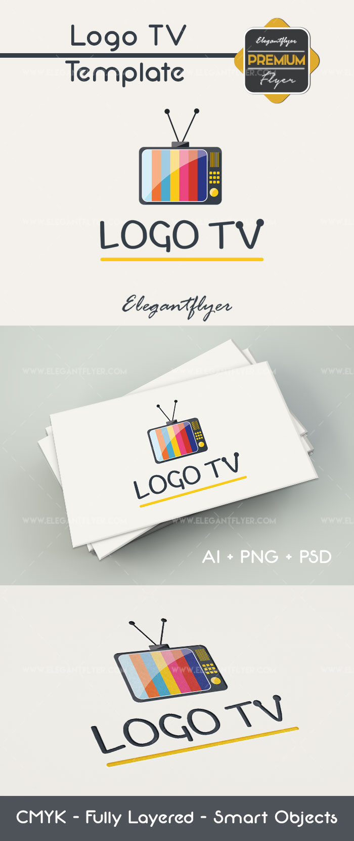 Logo TV – Premium Logo Template