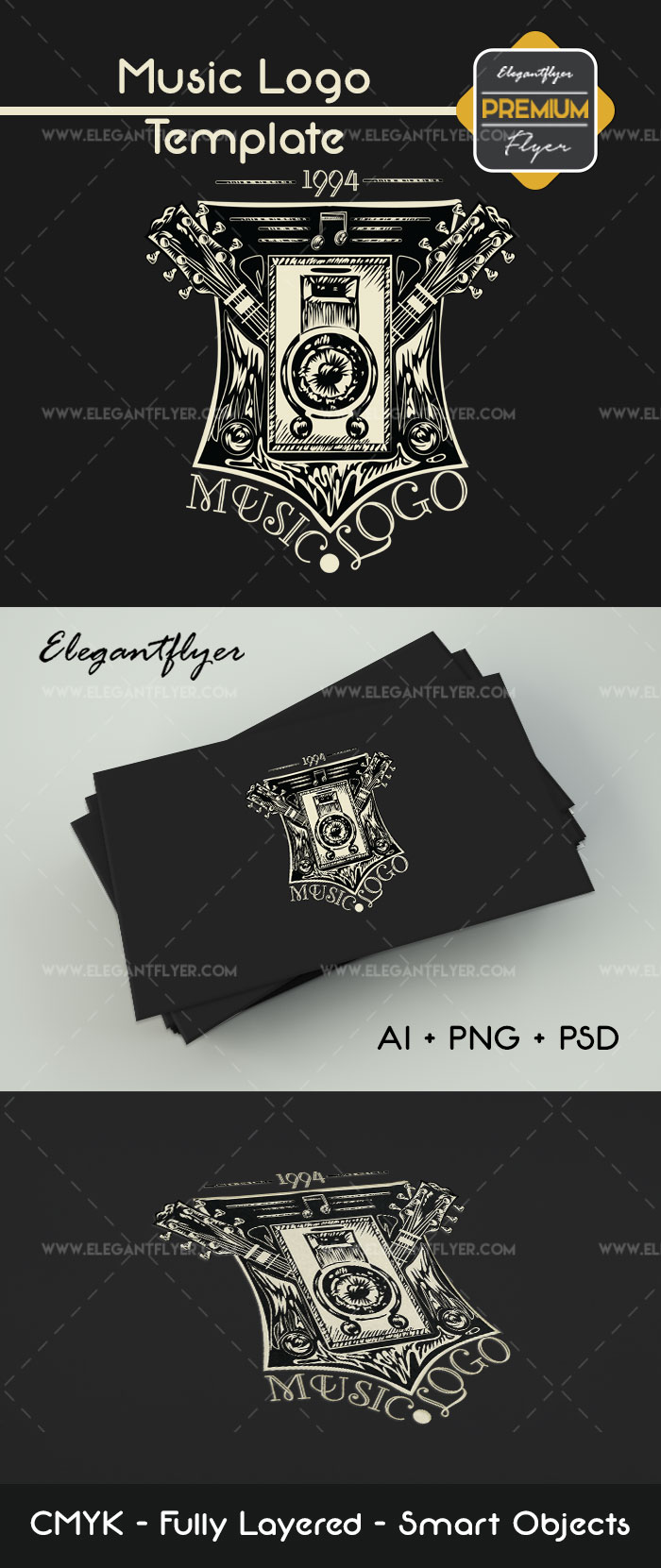 Music Band Logo Template