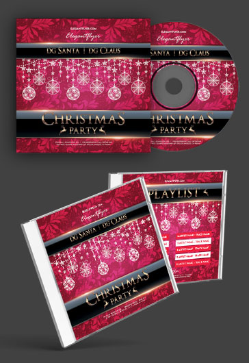Сhristmas Party – Premium CD Cover PSD Template