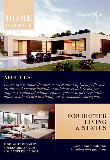 Free Real Estate Flyer Psd Templates By Elegantflyer