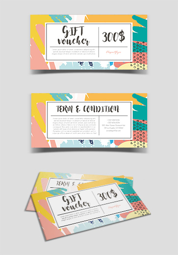Cleaning Service – Free Gift Certificate PSD Template