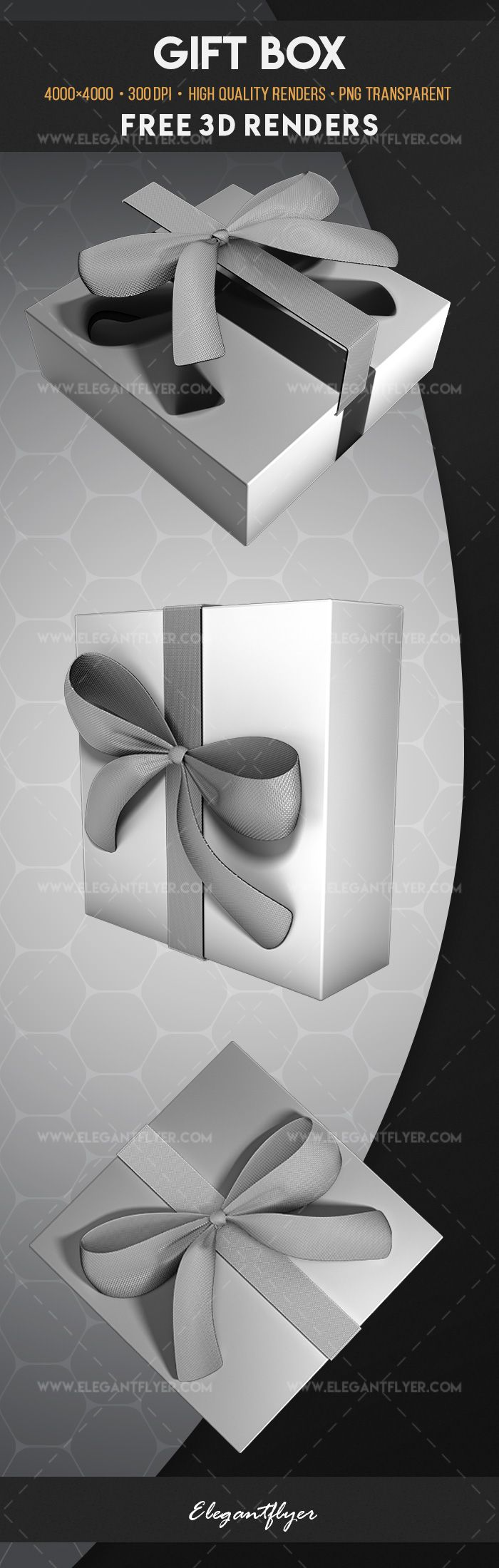Gift Box – Free 3d Render Templates