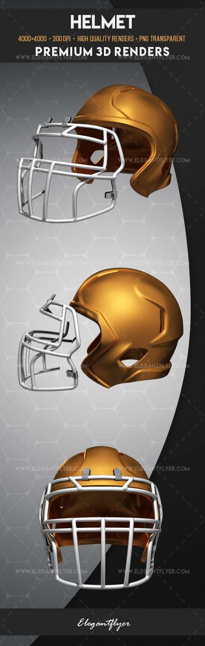 helmet premium 3d render templates by elegantflyer. Black Bedroom Furniture Sets. Home Design Ideas