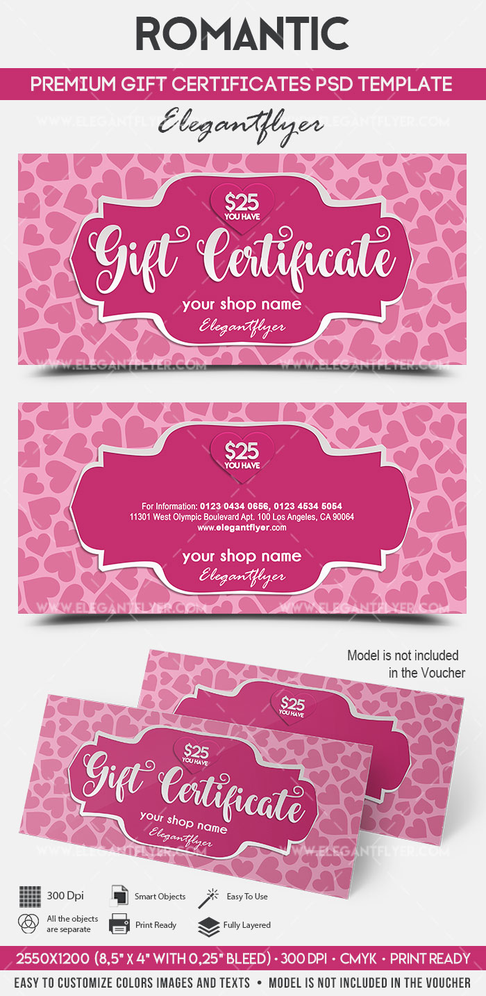 Romantic  Premium Gift Certificate Psd Template  By. Writing A Personal Letter Format Template. Wedding Ring Templates Free. Powerpoint Pitch Book Template. Phil Town Rule 1 Pdf. Free Downloadable Resume Templates For Word 2010. Teacher Weekly Schedule Template. Profit And Lost Statement. Internal Auditor Resume Samples Template