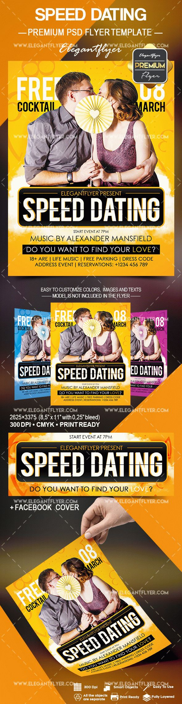 Free speed dating flyer templates