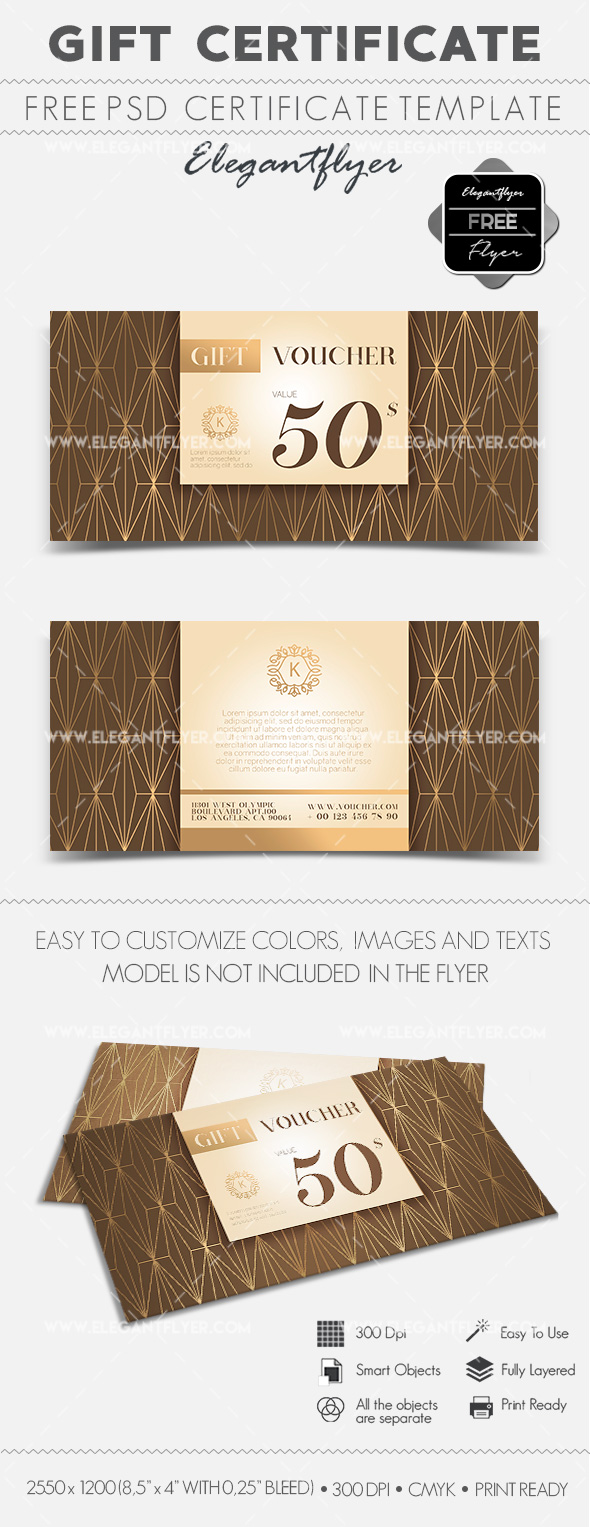 Free Gift Voucher Template
