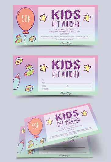 printable gift certificate templates for kids  u2013 by
