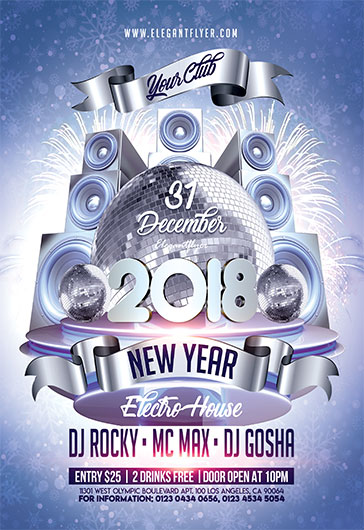 New YearS Eve   Flyer Psd Template  By Elegantflyer
