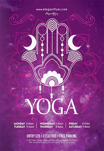 Template For Yoga To The People  By Elegantflyer