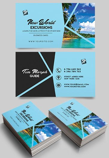 Transport company business card by elegantflyer excursions free business card templates psd transport company business card friedricerecipe Images