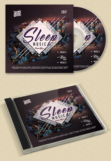 Monster Music – Premium CD Cover PSD Template