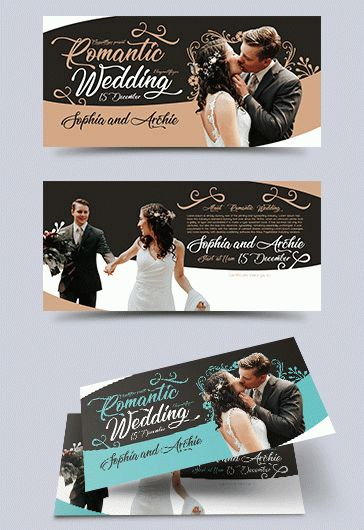 Wedding Reception – Free Flyer PSD Template