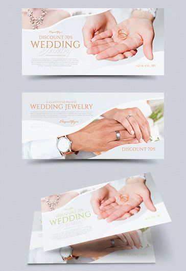 Wedding – CD & DVD Cover Template