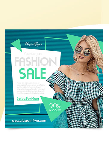 Fashion Sale – Free Instagram Banner