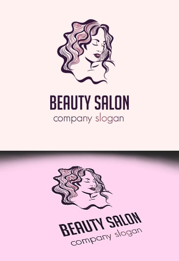 Hair Salon – Premium Logo Template