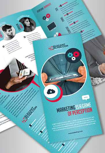 TriFold Brochure For Marketing  By Elegantflyer