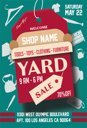 Yard Sale – Flyer PSD Template