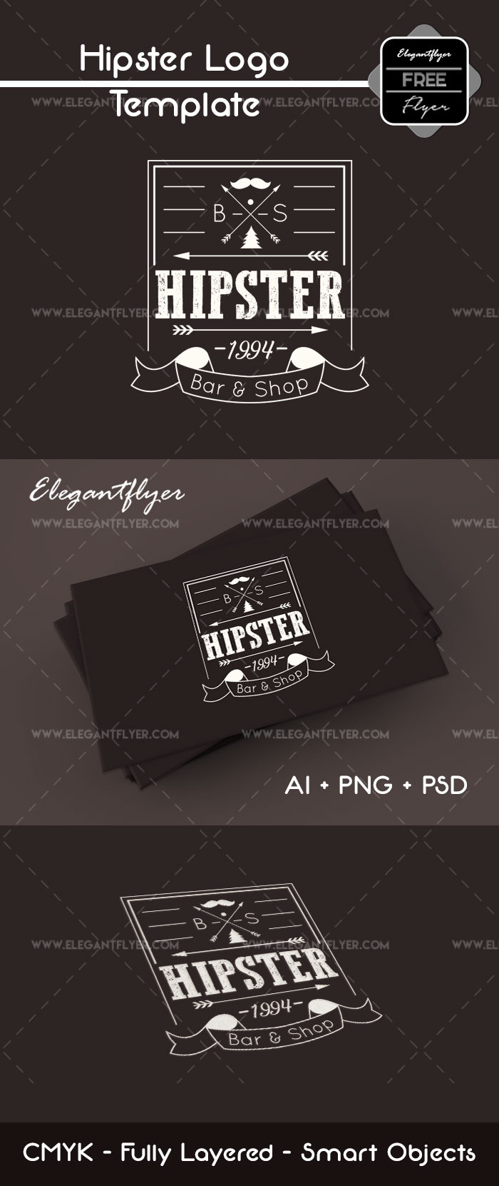 Hipster – Free Logo Template