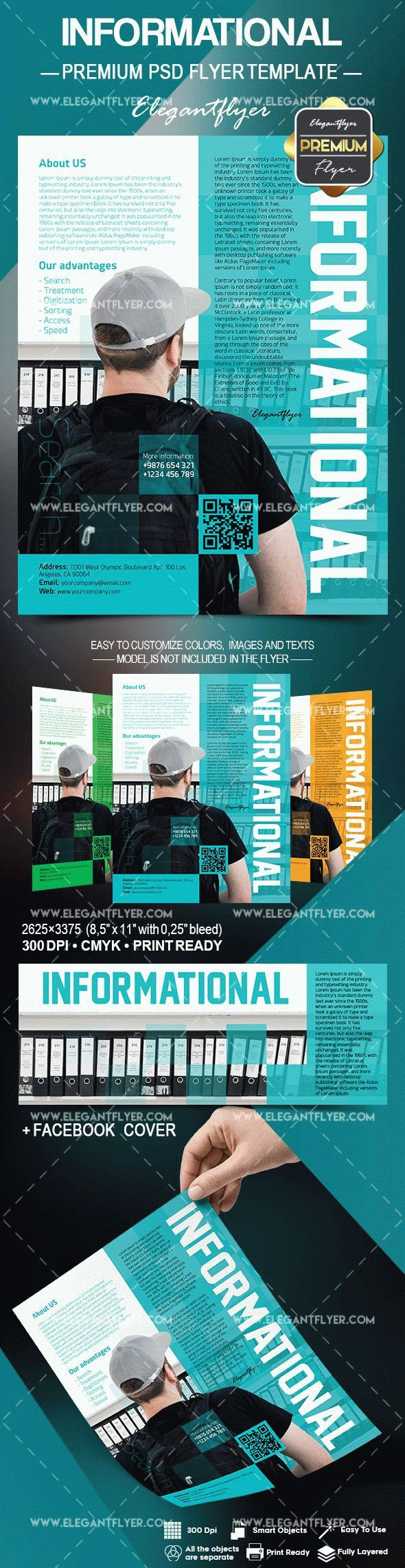 Informational – Flyer PSD Template