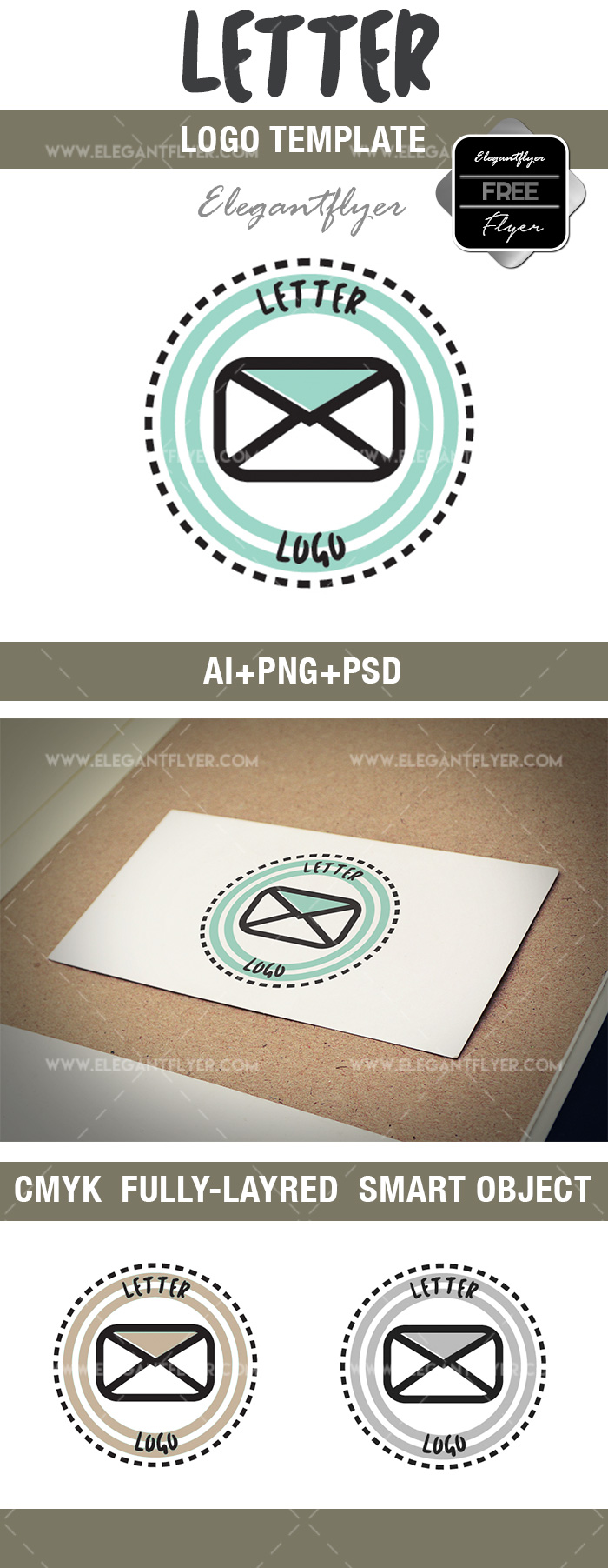 Letter – Free Logo Template