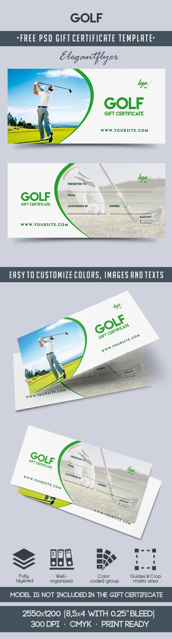 Golf Club Gift Vouchers