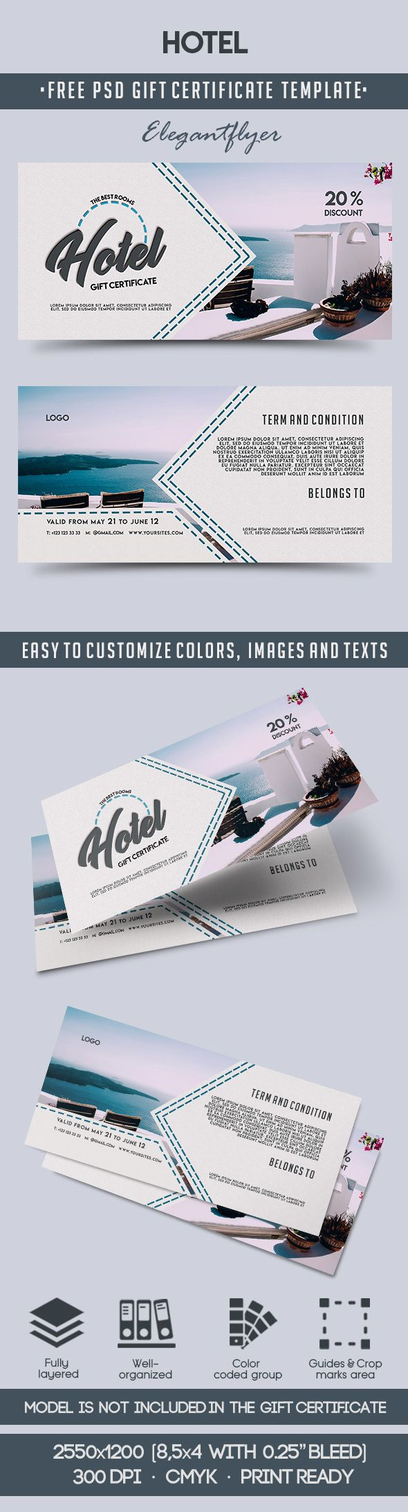 Free Gift Certificate Template For Hotel