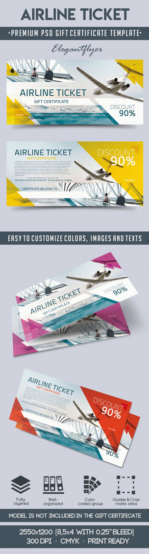 Gift Certificate for Airline Ticket