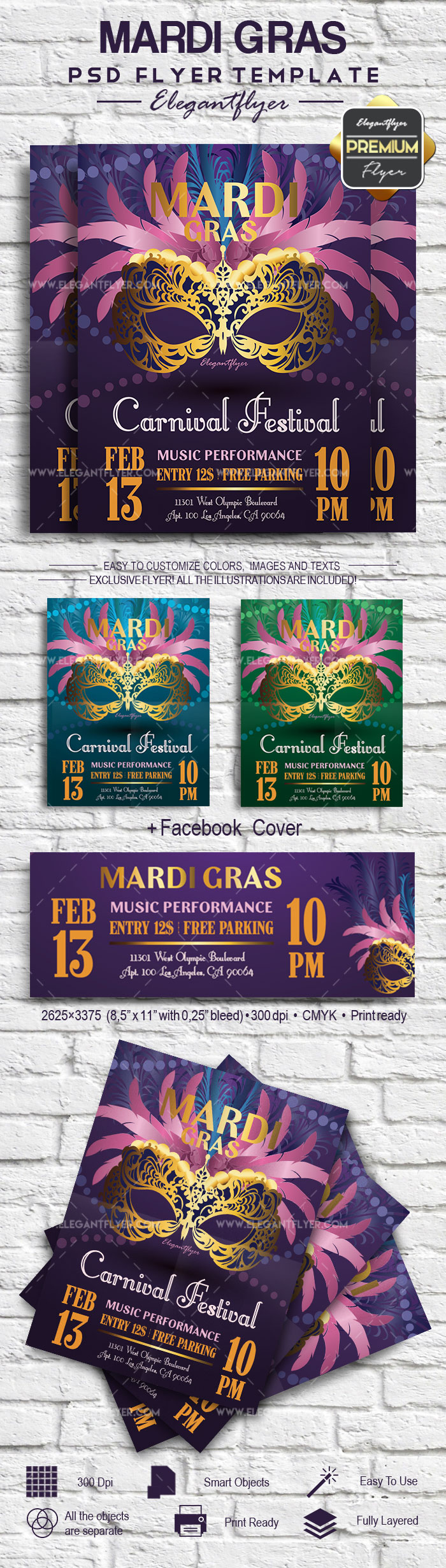 Party for Mardi Gras Festival