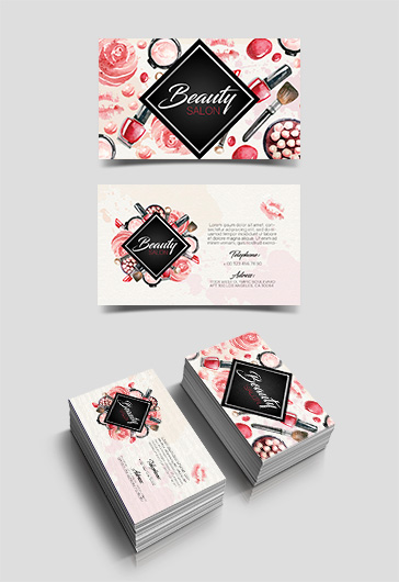 Free Business Card for Beauty Salon