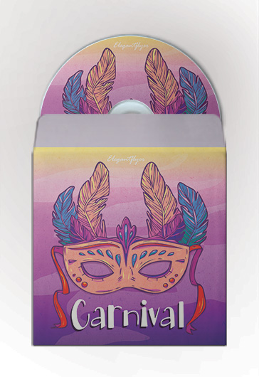 Carnival – Premium CD Cover PSD Template