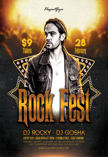 Hard Rock Beer Festival Poster