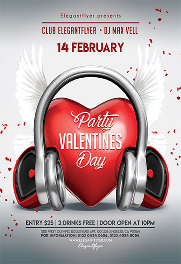 Music Love – Flyer PSD Template