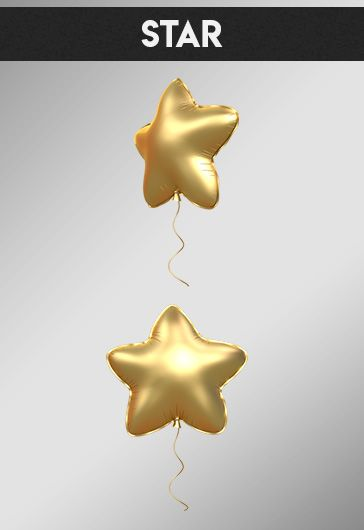 Set of Balloons – Premium 3d Render Templates