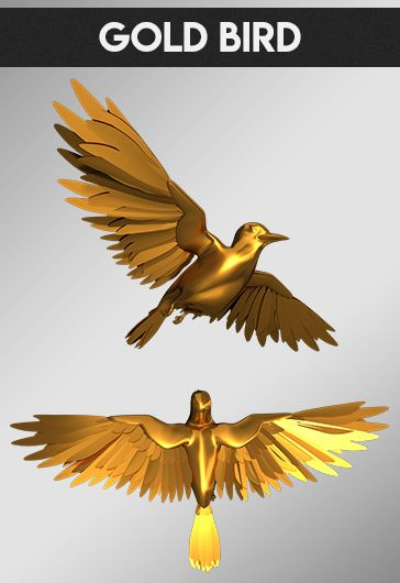 Cartoon Bird – Free 3d Render Templates