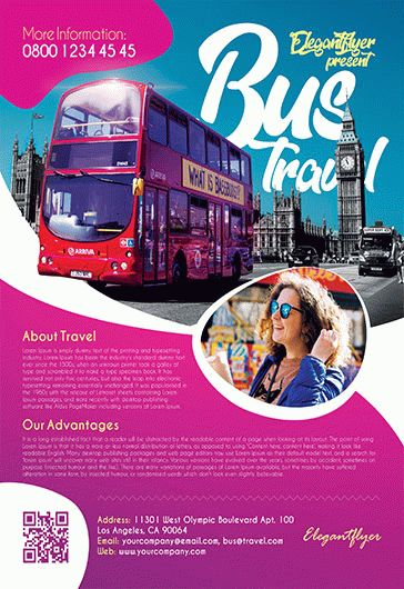 Free Travel Tourism Flyer Templates For Photoshop By Elegantflyer