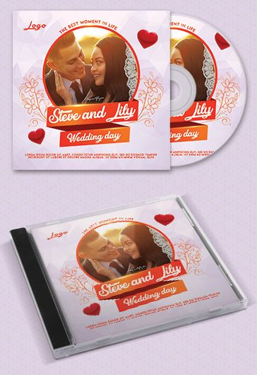 Heartbeat CD Cover in PSD