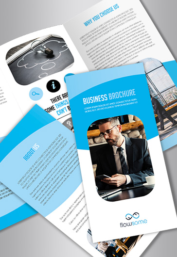 Free Brochure Templates In PSD By ElegantFlyer - Business brochures templates