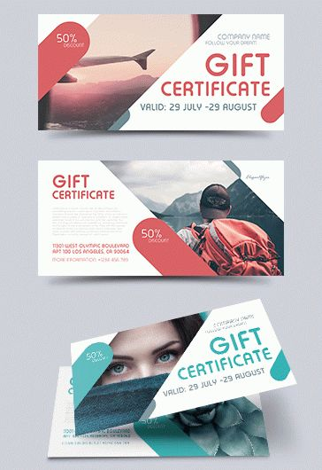 Gift Certificate for Electronics Store