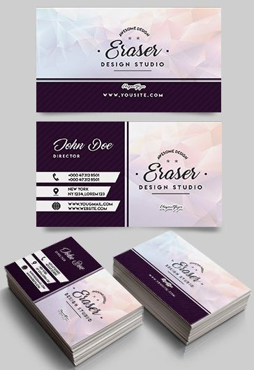 Studio Design PSD Business Card