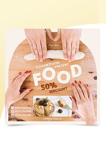 Food – Premium Instagram Banner