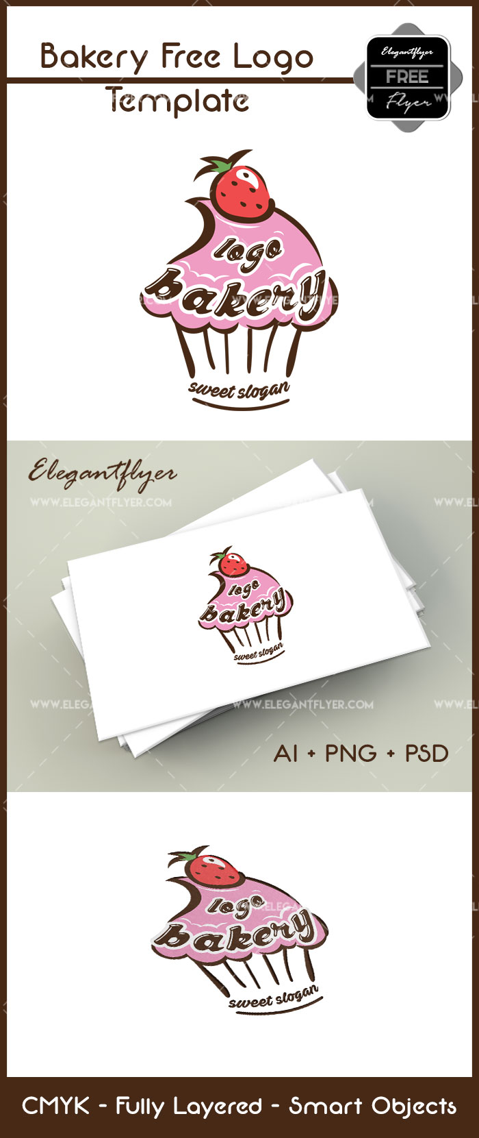 Bakery – Free Logo Template