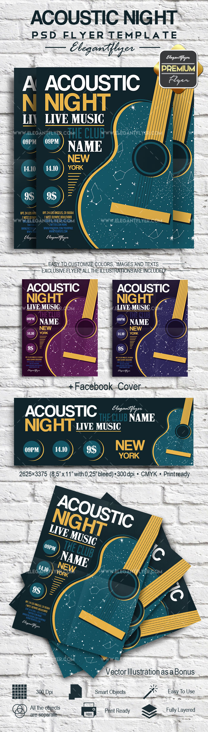 Music Flyer Acoustic