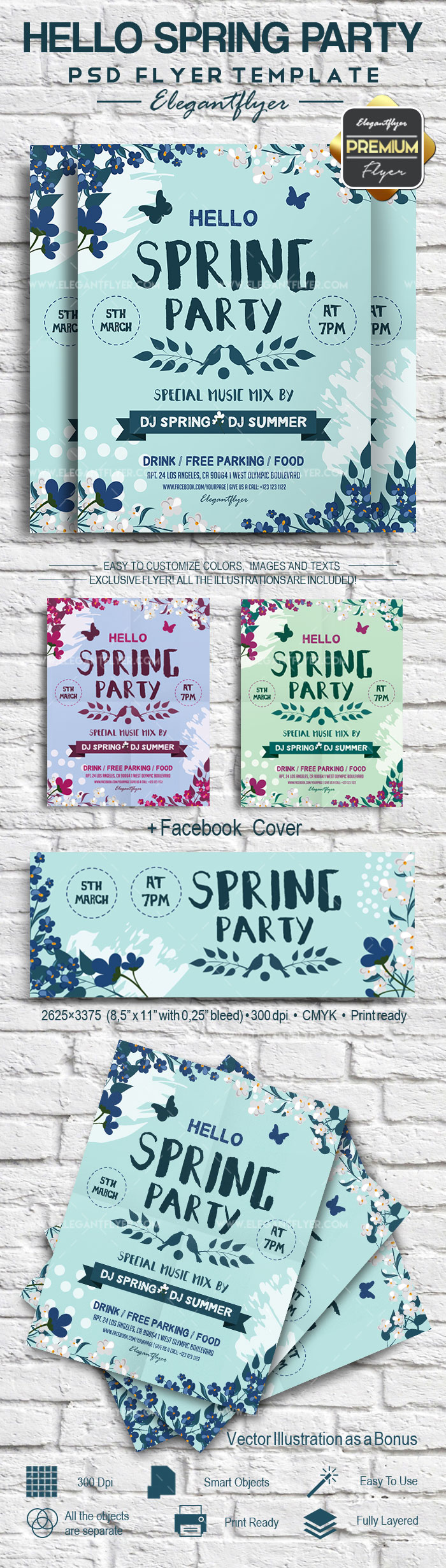 Spring Party Invitation