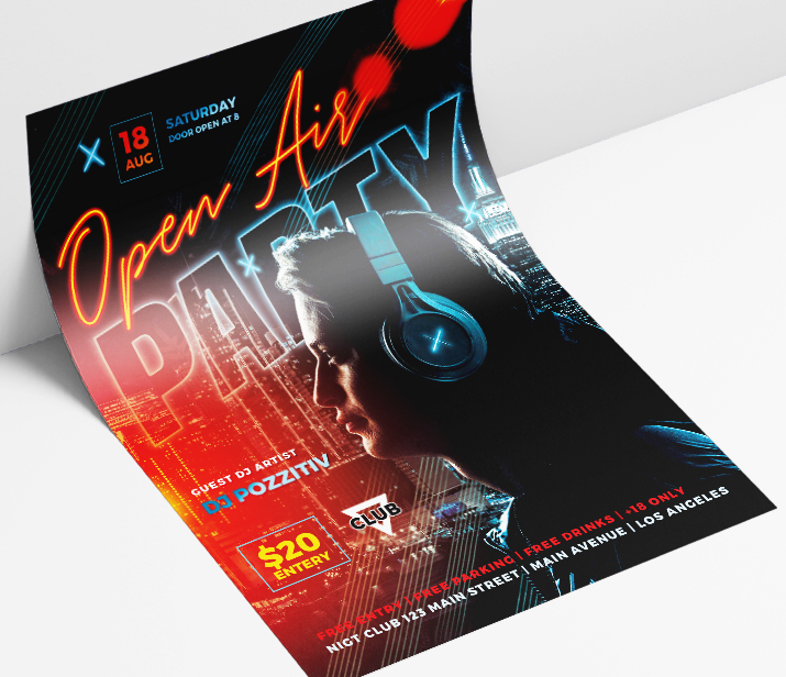 May 2021: 26 Exclusive PSD Flyer Templates for night clubs, restaurants, bars & Special themed events!