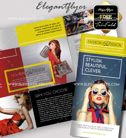 May 2021: 36+ Free Brochure Templates for Food, Travel Business and Health & Beauty