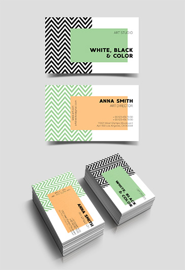 Art Studio – Free Business Card Templates PSD