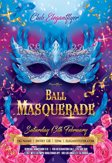 Masquerade After Effects Template