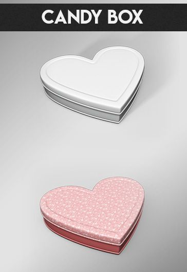 Candy Box – Premium 3d Render Templates