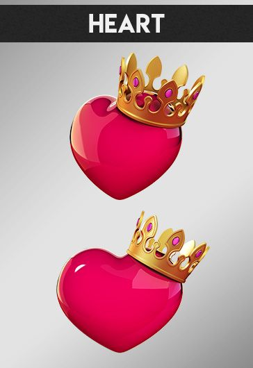 Heart Pack – Premium 3d Render Templates