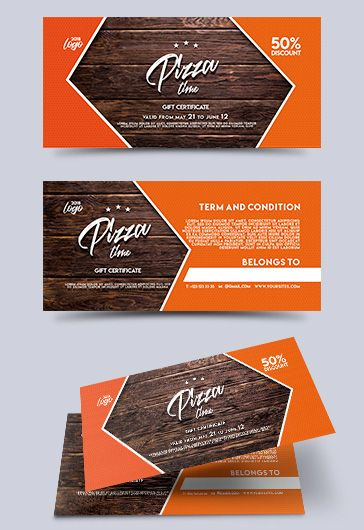 The Pizza – Free PSD Template + Facebook cover
